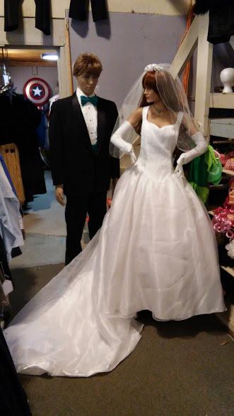 Wedding dress & Tuxedos