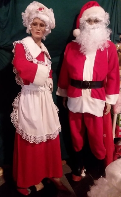 Santa & Mrs. Clause